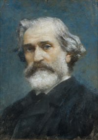 Il ritratto di Verdi di Francesco Paolo Michetti (1887)